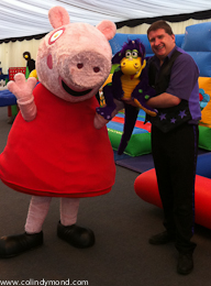 Snot the Dragon and Peppa Pig
