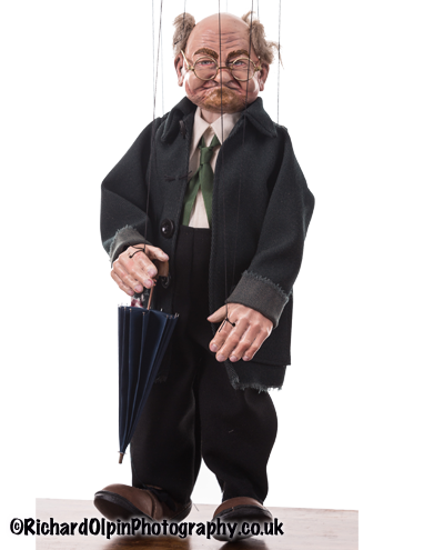 Gloucestershire Puppets Old Man Marionette
