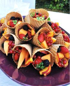 Healthy children's party food